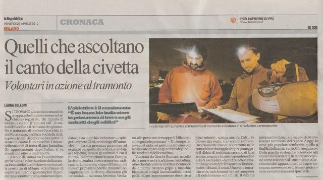 La Repubblica Milano