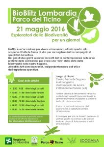 BioBlitz 2016 al Parco del Ticino