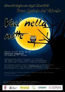 """""""Voci nella notte"""" - Serata sui rapaci notturni al Parco del Ticinello"""